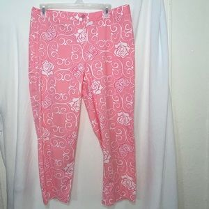 Lilly Pulitzer Vintage Iron Maiden Cropped Capris